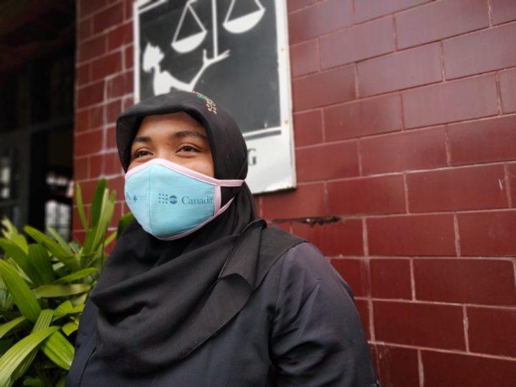 Direktur Nurani Perempuan Women Crisis Center, Rahmi Merry Yenti. (foto: Irwanda/langgam.id)